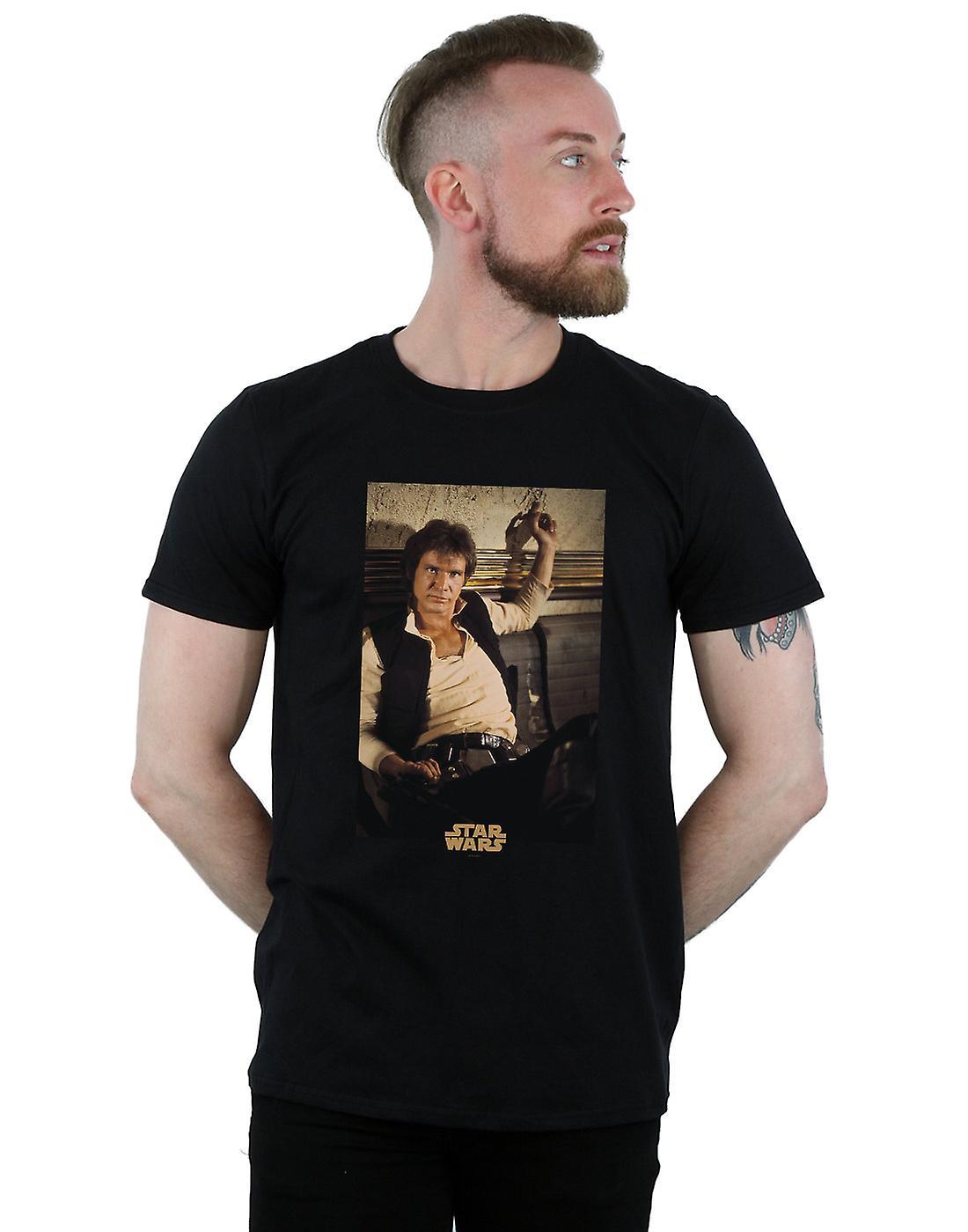 Star Wars Men's Han Solo Mos Eisley T-Shirt