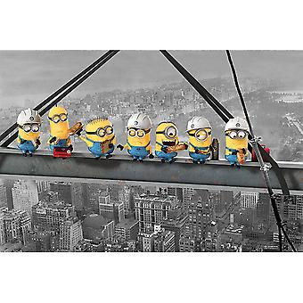 Despicable Me Minion Skyscraper Poster