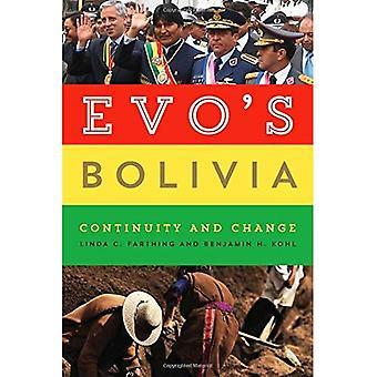 Pertti Bolivia: jatkuvuutta ja muutoksia