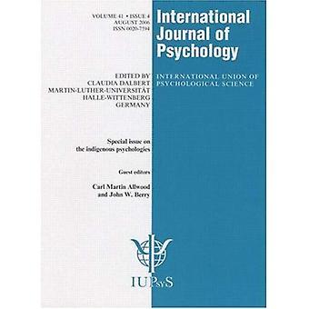 Numero speciale su psicologie indigene (rivista internazionale di psicologia)