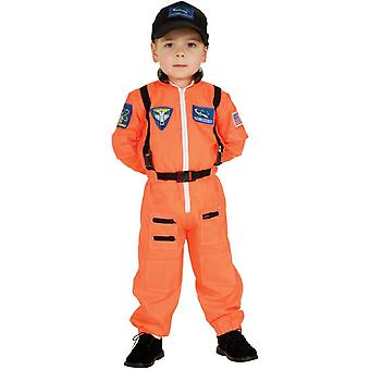 Orange Astonaut Child Costume