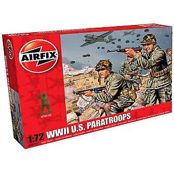 Airfix A00751 WWII US Paratroops 1:72 Scale Model Kit