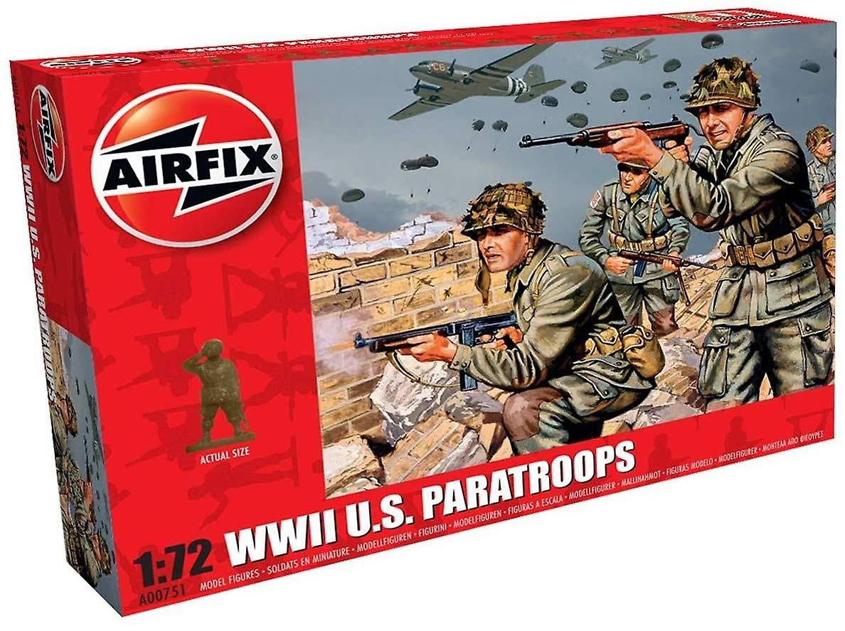 Airfix A00751 WWII amerikanske faldskærmstropper 1: 72 skala