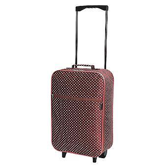 Slimbridge Barcelona Kabine zugelassen Tasche, rote Punkte