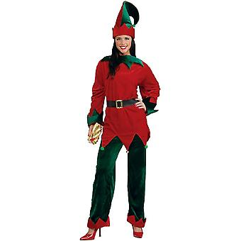 Festive Elf Adult Costume