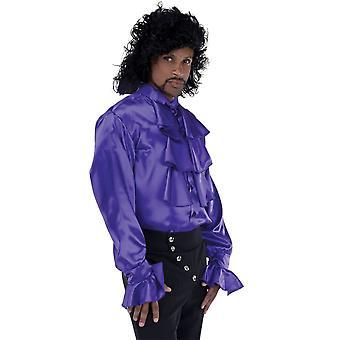 Pirate Shirt Purple Adult