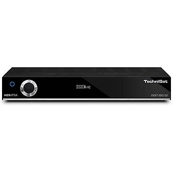 TechniSat DIGIT ISIO S2 Schwarz HD SAT receiver Recording function, CI+ slot, Twin tuner No. of tuners: 2