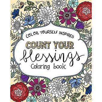 Count Your Blessings Coloring Book by Compiled by Barbour Staff - 978