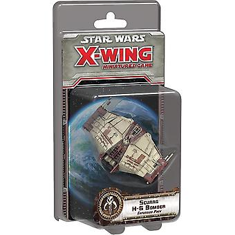 Star Wars Scurgg H-6 bombardier X-Wing miniatură Expansion Pack