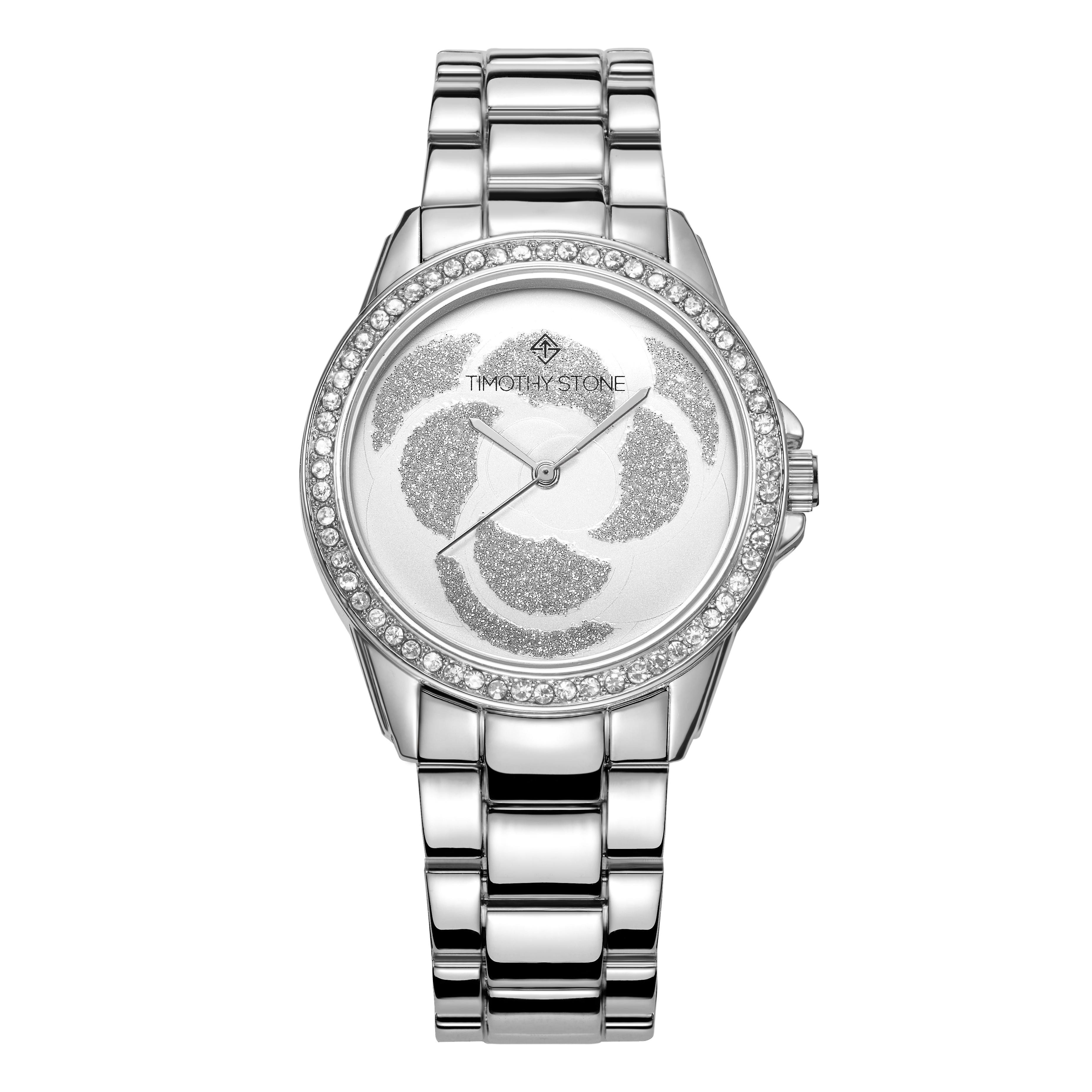Timothy Stone Women's KATY Silver-Tone Watch