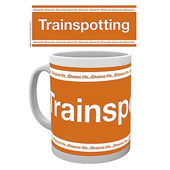 Trainspotting Logo Boxed drinken mok