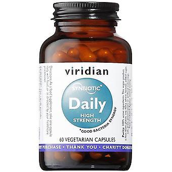 Viridian Synbiotic Daily High Strength Veg Caps 60 (461)