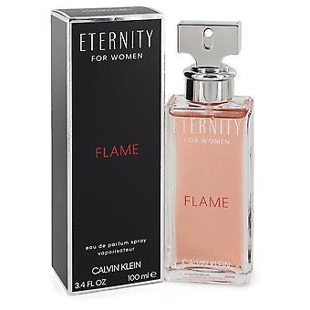 Eternity Flame Eau de Parfum Spray por Calvin Klein 100 ml