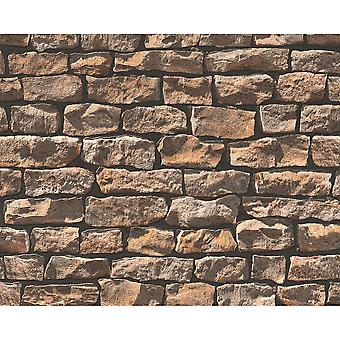 A.S. criação madeira N pedra rural tijolo pedra natural Photo wallpaper 907912
