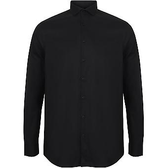 Henbury - Mens Long Sleeve Stretch Shirt