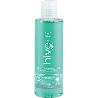 Hive Of Beauty Pre Wax Cleansing Lotion With Soothing Tea Tree & Camphor 200ml