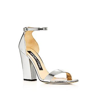 Sergio Rossi Womens A78411 Open Toe Ankle Strap Classic Pumps