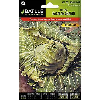 Batlle Great Bacalan Cabbage (Garden , Gardening , Seeds)