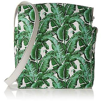 Joe Browns Palm Breezes Bag ( White Multi-A) 9x31x25 cm (W x H L)
