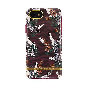 Richmond & Finch Shell voor iPhone 8/7/6/SE - Floral Zebra