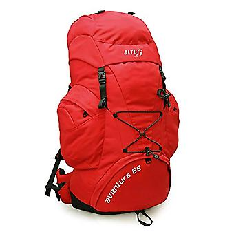 Altus Aventura Trekking Backpack - Color: Red - 65 l