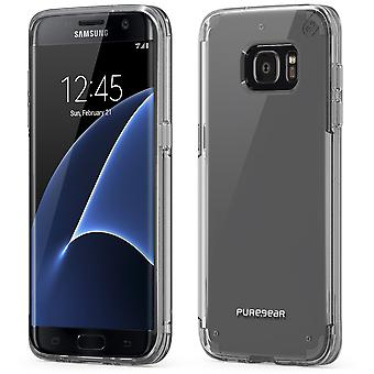 PureGear Slim Shell PRO Case for Samsung Galaxy S7 edge - Clear/Clear