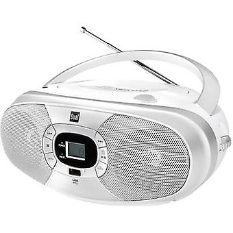 FM Dual P390 CD, USB White