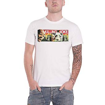 Killing Joke T Shirt Whats This For Back Print Band Logo new Official Mens White