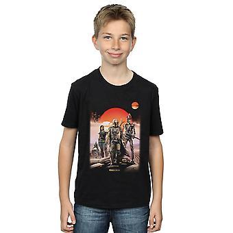 Star Wars Boys The Mandalorian Warriors T-Shirt