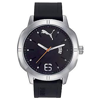 קוורץ גברים פומה שעון אנלוגי עם רצועת פלסטיק PU104261004