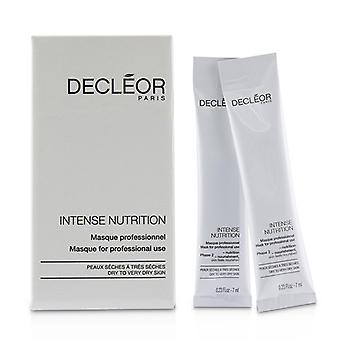 Decleor Intense Nutrition Mask (5x Phase 1-hydration 5x Phase 2-nourishment) - For Dry To Very Dry Skin (salon Product) - 10x7ml/0.23oz