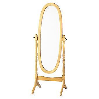 Contessa Cheval Mirror - Antique Pine