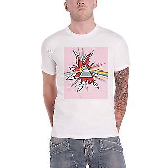 Pink Floyd T Shirt Lichtenstein Prism DSOTM new Official Mens White