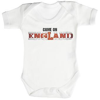 イングランドのロンパースに来る/Babygrow
