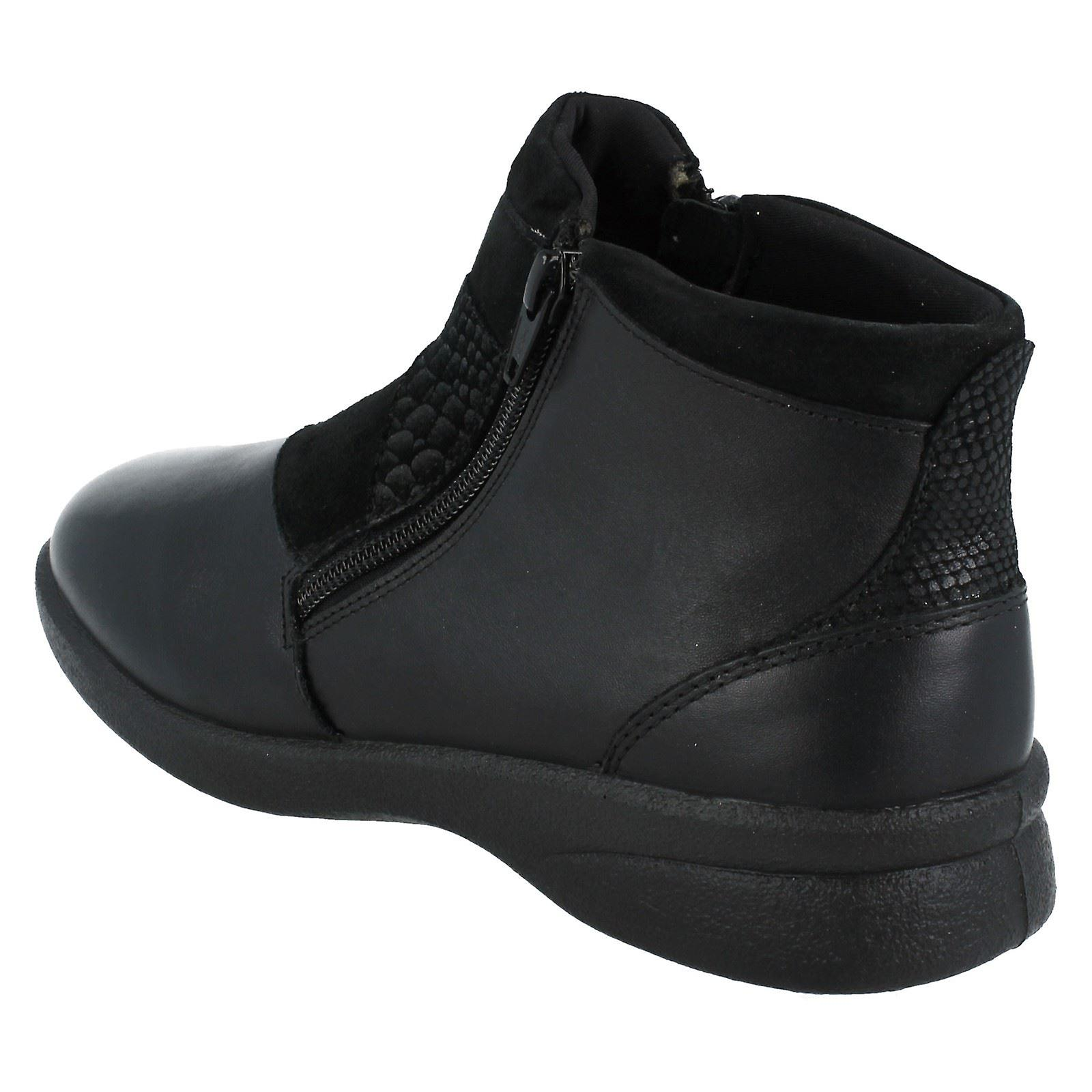 Ladies Padders Dual Fit Ankle Boots Rosalyn
