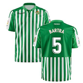 2019-2020 Real Betis Kappa Home Shirt (Bartra 5)