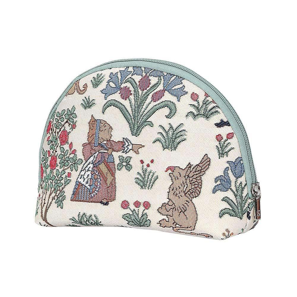 Alice in wonderland big cosmetic bag by signare tapestry / bgcos-alice