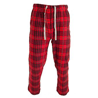 Cargo Bay Mens Check Lounge Pants