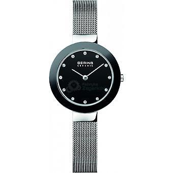 Ver Bering 11429-002 - Classic Bo tier Steel Black Bross Bracelet Steel Milanese Silver Women