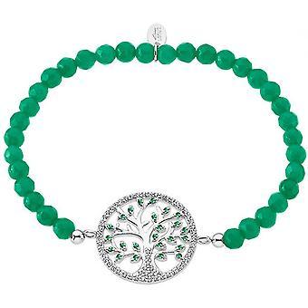 Lotus Silver Tree Of Life Bracelet LP1895-2-3 - Women's Green Pearlsilver Bracelet