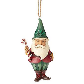 Jim Shore Heartwood Creek Winter Wonderland Santa gnome