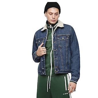Diesel D-gioc-fur Jacket blå