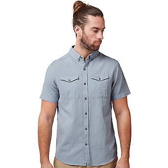 Craghoppers Mens Kiwi الكتان خفيفة الوزن قميص الأكمام القصيرة