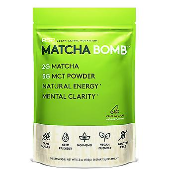 Rsp matcha powder, keto & vegan friendly, natural energy, mental clarity, mct powder (vanilla chai)