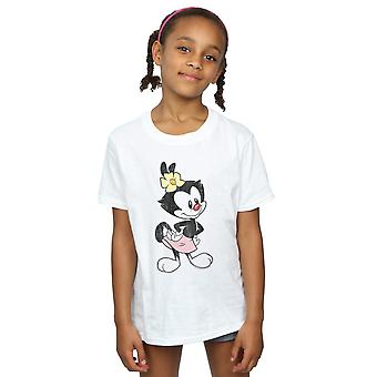 Animaniacs Girls Dot Classic Pose T-Shirt
