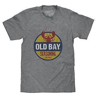 Old Bay Seasoning Grey T-Shirt