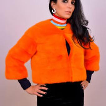 Manteau Orange Sam-rone Femme Los Angeles V FLUO