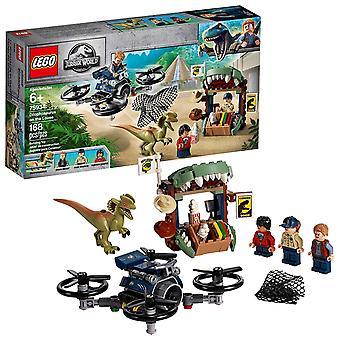 LEGO Jurassic World - Dilophosaurus på fri fot