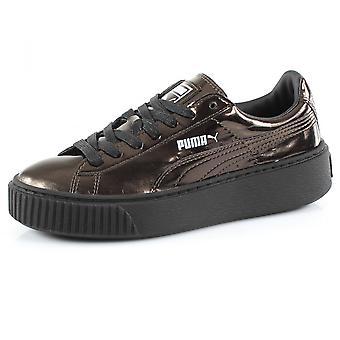 Puma BASKET PLATFORM METALLIC 36233903 fashion sneakers