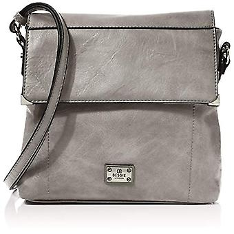 Bessie London Woman Grey One Size shoulder bag